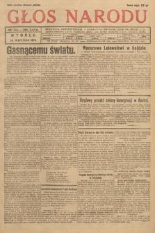 Głos Narodu. 1929, nr255
