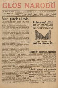 Głos Narodu. 1929, nr257