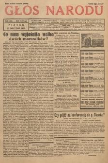 Głos Narodu. 1929, nr258