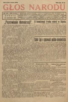 Głos Narodu. 1929, nr259