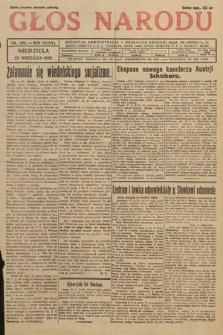 Głos Narodu. 1929, nr260