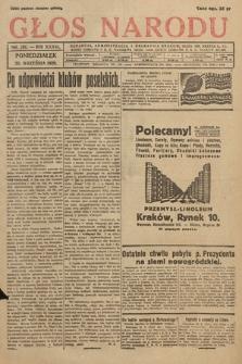 Głos Narodu. 1929, nr261