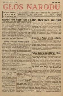 Głos Narodu. 1929, nr262