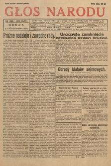 Głos Narodu. 1929, nr263