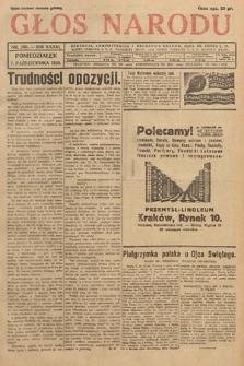 Głos Narodu. 1929, nr268