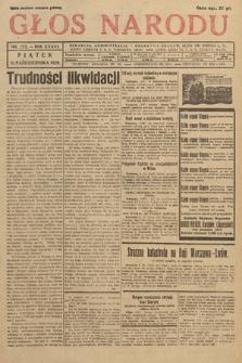 Głos Narodu. 1929, nr272