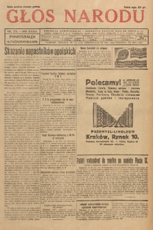 Głos Narodu. 1929, nr275