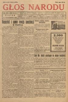 Głos Narodu. 1929, nr279