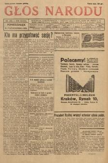 Głos Narodu. 1929, nr282