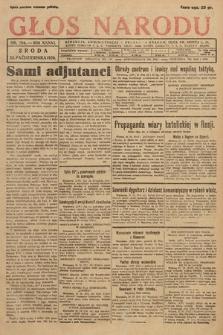 Głos Narodu. 1929, nr284