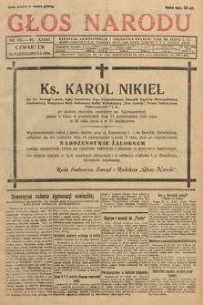 Głos Narodu. 1929, nr285