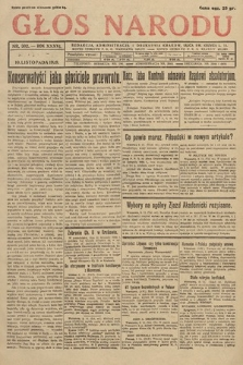 Głos Narodu. 1929, nr302