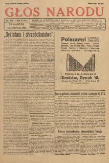 Głos Narodu. 1929, nr306