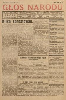 Głos Narodu. 1929, nr314