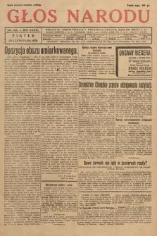 Głos Narodu. 1929, nr321