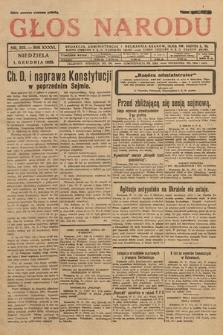 Głos Narodu. 1929, nr323