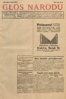 Głos Narodu. 1929, nr331 [po konfiskacie]