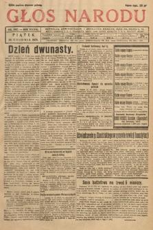 Głos Narodu. 1929, nr342