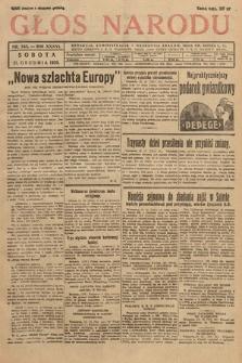 Głos Narodu. 1929, nr343