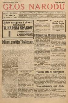 Głos Narodu. 1929, nr344