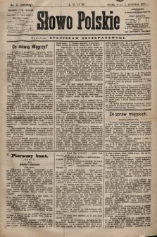 Słowo Polskie. 1898, nr4 (poranny)