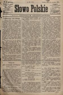 Słowo Polskie. 1898, nr13 (poranny)