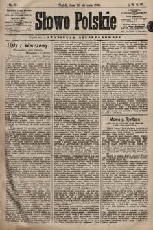 Słowo Polskie. 1898, nr17