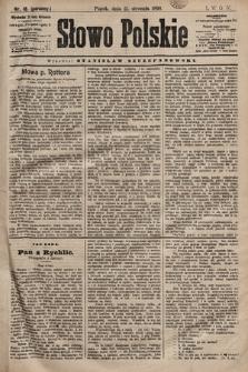 Słowo Polskie. 1898, nr18 (poranny)
