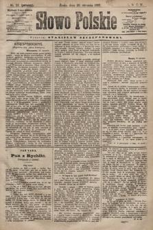 Słowo Polskie. 1898, nr22 (poranny)