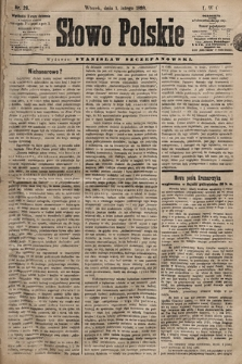 Słowo Polskie. 1898, nr26