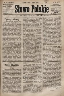 Słowo Polskie. 1898, nr27 (poranny)