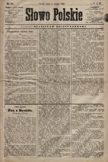 Słowo Polskie. 1898, nr28