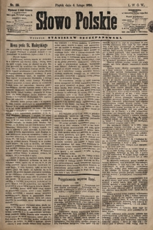 Słowo Polskie. 1898, nr29