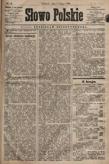 Słowo Polskie. 1898, nr31 (poranny)