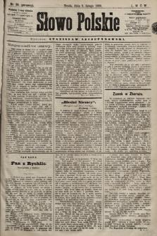 Słowo Polskie. 1898, nr34 (poranny)