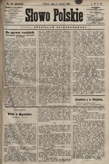 Słowo Polskie. 1898, nr36 (poranny)
