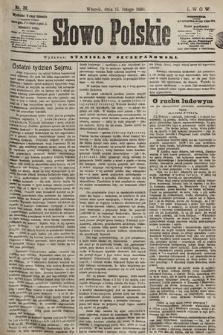 Słowo Polskie. 1898, nr39