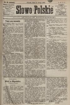 Słowo Polskie. 1898, nr40 (poranny)