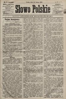Słowo Polskie. 1898, nr41 (poranny)