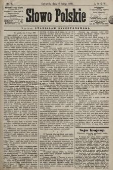 Słowo Polskie. 1898, nr41