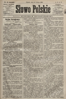 Słowo Polskie. 1898, nr43 (poranny)