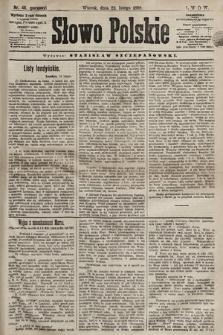 Słowo Polskie. 1898, nr46 (poranny)
