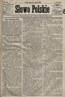 Słowo Polskie. 1898, nr46