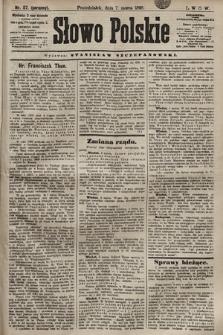 Słowo Polskie. 1898, nr57 (poranny)