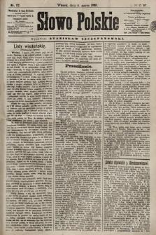 Słowo Polskie. 1898, nr57