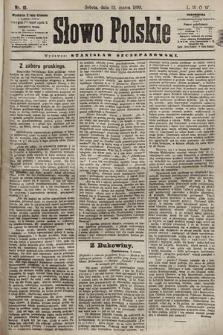 Słowo Polskie. 1898, nr61