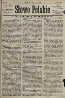 Słowo Polskie. 1898, nr66