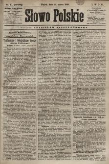 Słowo Polskie. 1898, nr67 (poranny)