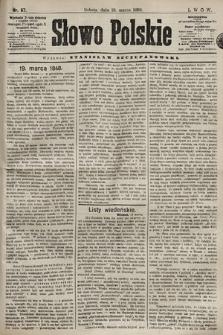Słowo Polskie. 1898, nr67