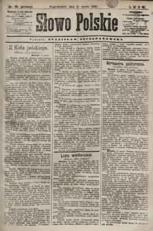 Słowo Polskie. 1898, nr69 (poranny)
